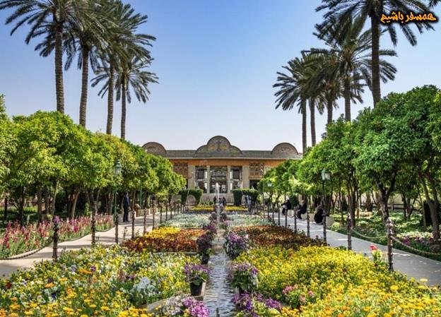 عکس باغ عفیف آباد