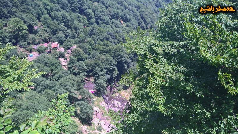 بالای آبشار لاتون همسفر باشیم